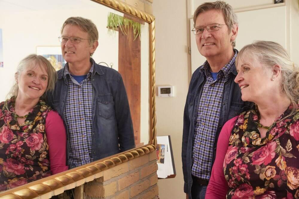 Dick en Jeannette Westerkamp: 'Zoek een plek waar je God kunt dienen. Het belangrijkste is dat je dichter naar Hem toegroeit.' (beeld Jaco Klamer)