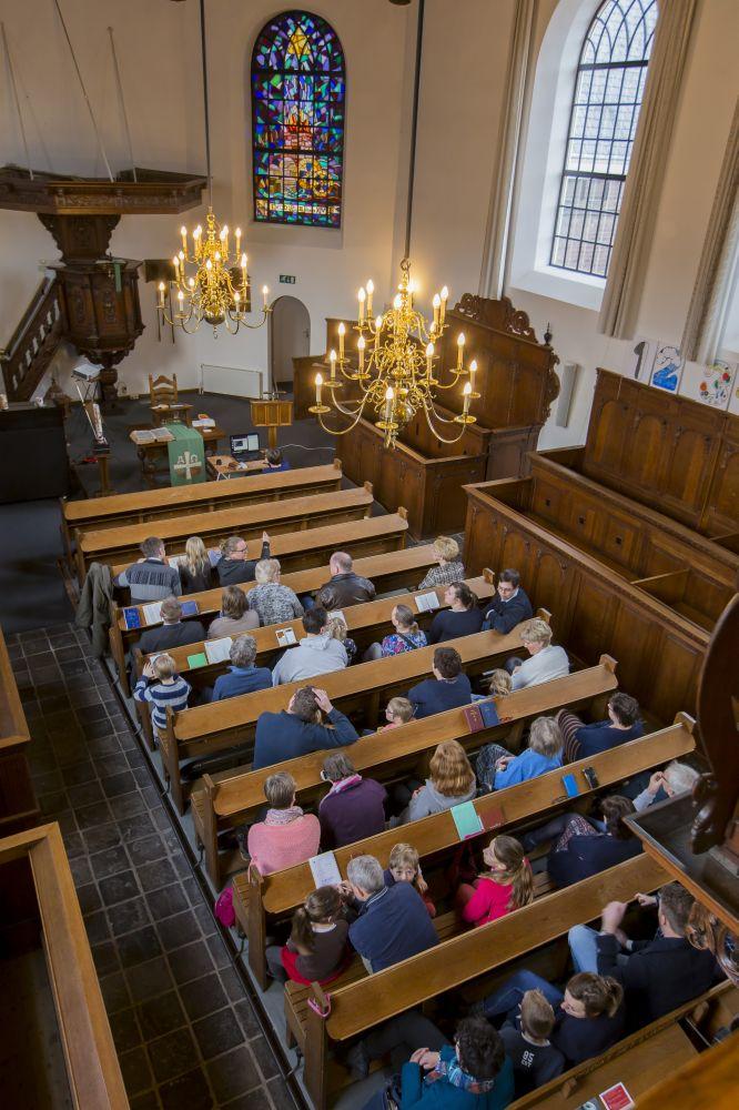 De Ontmoetingskerk in Zevenaar. (beeld GKv Duiven-Velp)