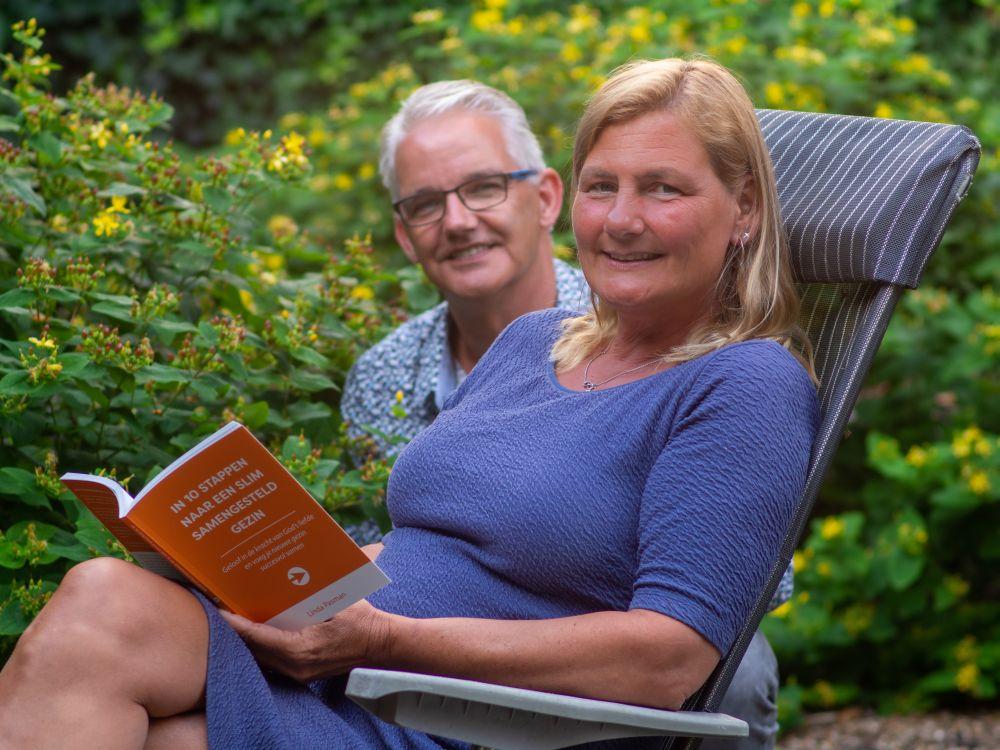 Linda Pasman en haar man Gerjo. (beeld Gert Jan Kole)