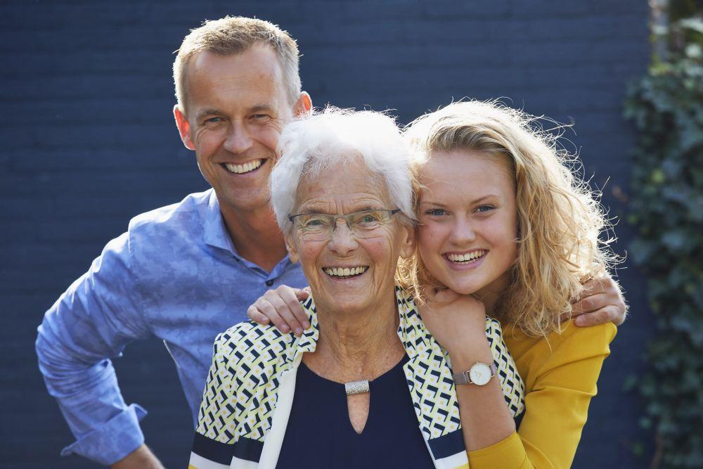 Vrijgemaakt door drie generaties heen