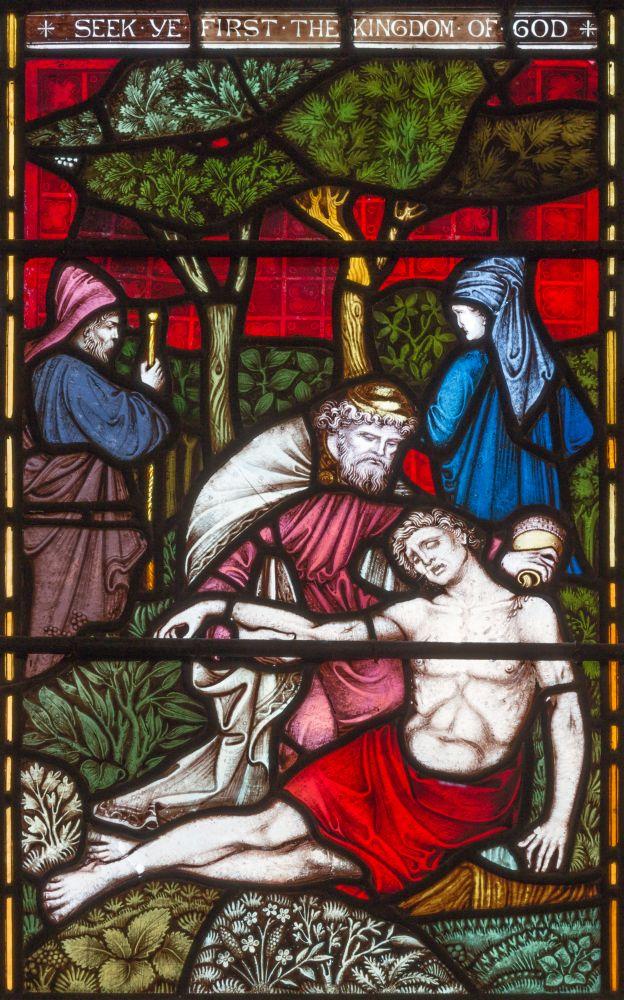 De barmhartige Samaritaan van het Oude Testament