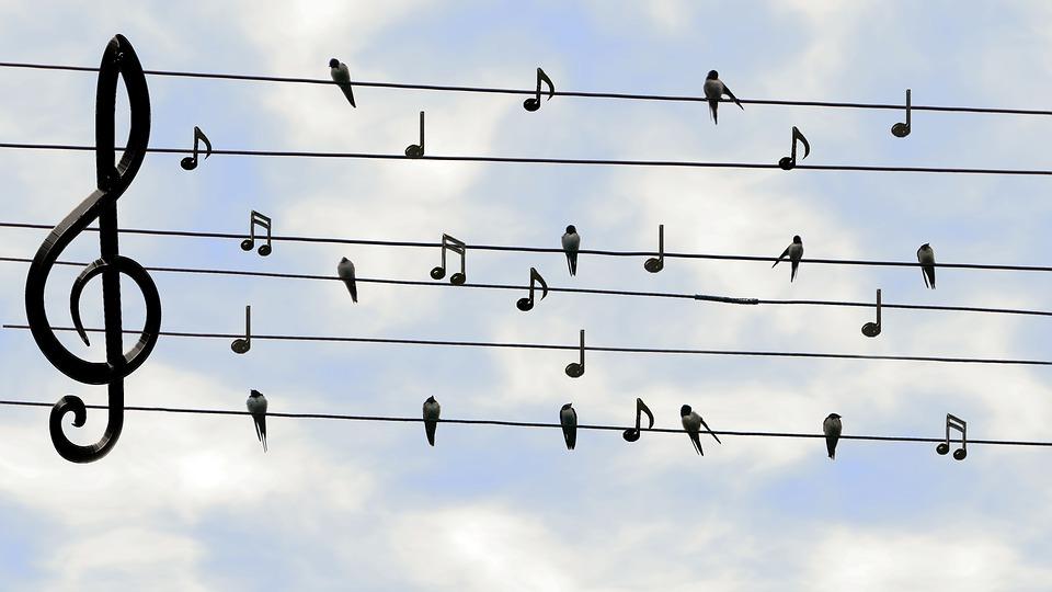 Kan God zingen?