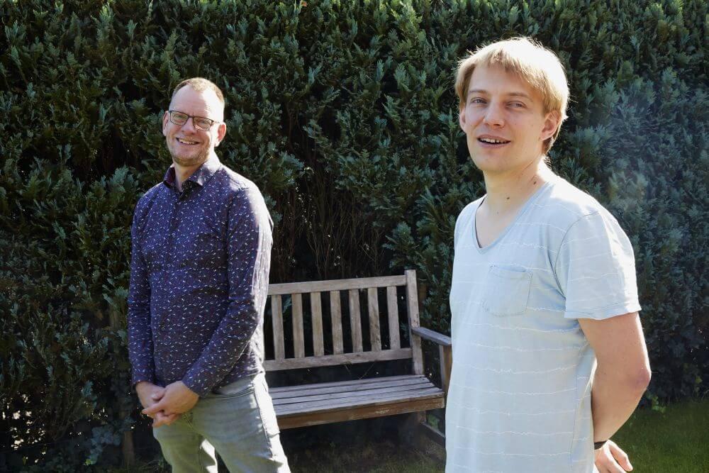 Peter Sneep en Jaap Cramer. (beeld Jaco Klamer)