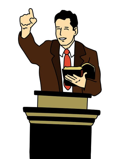 Predikant en corona